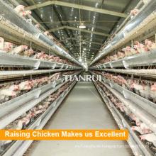 Niedriger Preis hohe Qualität China Versorgung 4 Tier Schicht Geflügel Aufzuchtkäfige