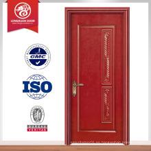 Casa acabada más reciente diseño interior pvc puerta de madera