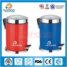 2014 new arrival high quality stainless steel wholesale waste bin, red trash can,garbage bin