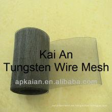 Malla de alambre de tungsteno