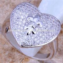 anel de coração grande francês alibaba anéis de promessa ocidental