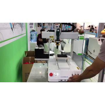 Máquina automática de bloqueo de tornillo de mesa