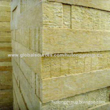 Rockwool Boards, Used for Construction Wall, Roof and Industrial Furnace