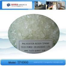 Tp4060 - Résine de polyester saturée de carboxyle pour revêtement de poeder