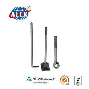 L Bolt with HDG Surface Special Fastener