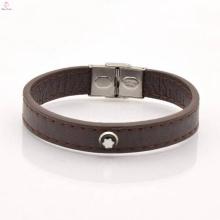 2017 vente chaude large bracelet en cuir pour hommes et femmes