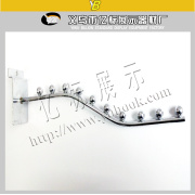 Fashion Shop Store/Supermarket Chrome Metal Clothes Display Hook