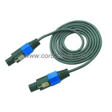 Cable de altavoz DT 2 X 1.0 mm² Speakon a Speakon