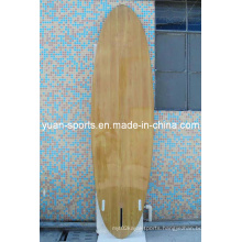 Wood Veneer Surface Stand up Paddle Board, Surfboard