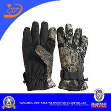 Mode verstellbaren elastischen Camo Handschuhe (CMOG08)