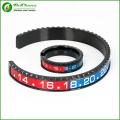 Speedometer Bracelet and Ring Set in stainless steel for men