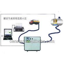 высокая точность калибровки цифровой топливного бака, в Китае танк калибровки системы,