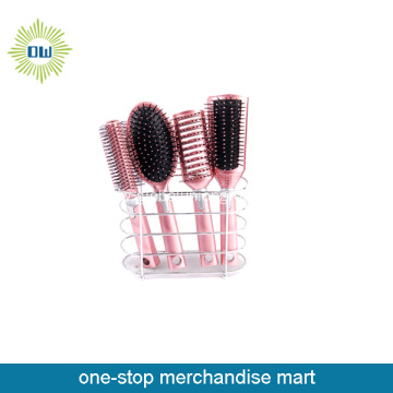 cheap custom hairbrush comb mirror set