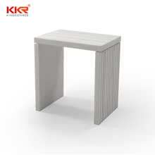 Marble Stone Shower Stool Solid Surface Anti Slip Bathroom Bench