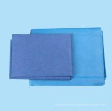 Lençóis descartáveis não tecidos