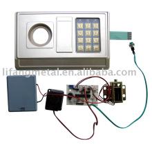 Safes electronic panel and safe locks