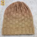 Fashion New Knitting Strip Gradient Color Men Knitting Winter Hat