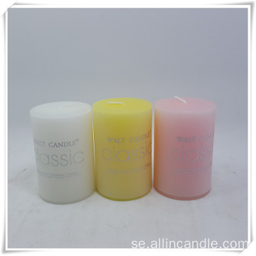 7 * 15cm scented pillar candles canada