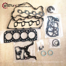 High quanlity Metal material engine gasket kit 04111-54160 Used car for Hilux 2L