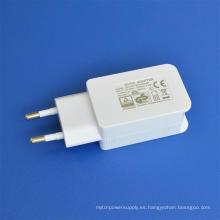 Adaptador de corriente USB blanco 5V2000mA en cargador