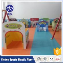 Plancher de jardin d'enfants de terrain de jeu qui respecte l'environnement d'enfants pour des enfants
