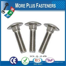 Made In Taiwan Mushroom Head Carriage Bolt