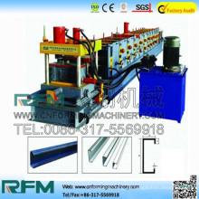 FX caliente venta intercambiable c & z purlin formando máquina