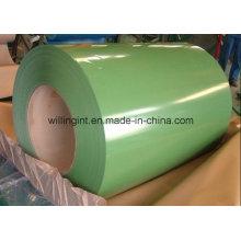 Зеленый цвет PPGL Холоднокатаная цветная стальная катушка, сделанная в Китае