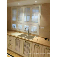 Sun Adjustable Environment Friendly High Quality Wood Window Shutter