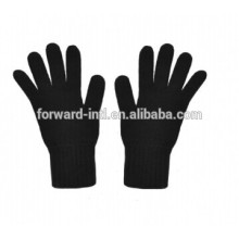 2014 venta caliente guantes de cachemira de color puro