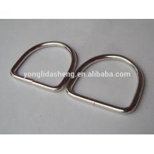 Kundenspezifischer preiswerter heißer verkaufender unterschiedlicher Metallstempel d-Ring für Großverkauf