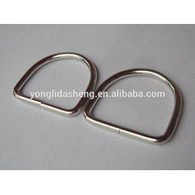 Custom cheap cheap selling various metal stamp d ring for wholesale