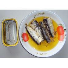 Hot Selling 125g Canned Mackerel in Oil