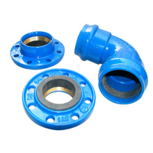 Pvc Di Pipe Fittings Flange 100% Water Pressure Test Equal Strict Inspection as Per Standard Round Casting CN;SHX OEM SYI