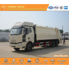 FAW 4X2 Compressed Rubbish Truck