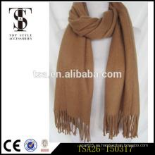 Bufanda árabe multicolor suave caliente barato para las mujeres borlas largas de la bufanda del invierno