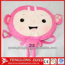 New design cute monkey plush cartoon bags for kids