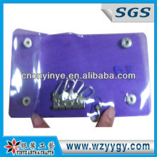 High Quality Promotional PVC Vinyl Key Pouch /Holder