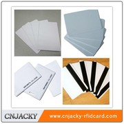 New Product clear plastic magnetic stripe card