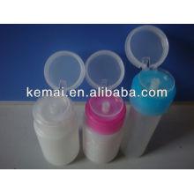 Frasco de plástico para removedor de unhas