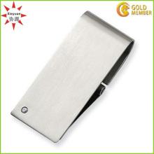 Vente en gros Custom Cheap Stainless Steel Money Clip with Blank