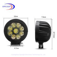 2020 4.7inch LED Driving Light Round 45W LED Work Light Round Brightness LED Driving Lights for Offroad Boat SUV Truck LED Work Lamp