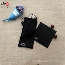 100% polyester microfiber custom print pouch for eyeglass