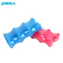 HDPE пластиковый ледяной кирпич охладитель для охлаждения банок