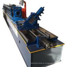 Máquina formadora de rollos de quilla de acero de canal en U
