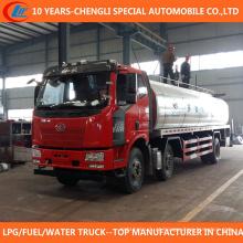 Caminhão de petroleiro do leite do caminhão 15cbm do transporte do leite 6X2 para a venda