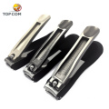 Engraved nail clipper souvenir with plastic cover