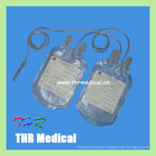 Economical Hospital Disposable Plastic Double Blood Bag