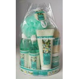 Essential Moment 9PC Spa Gift Set in PVC Tote Bag, Pratical Gift Set