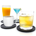 Heat resistant silicone rubber tea cup coaster set